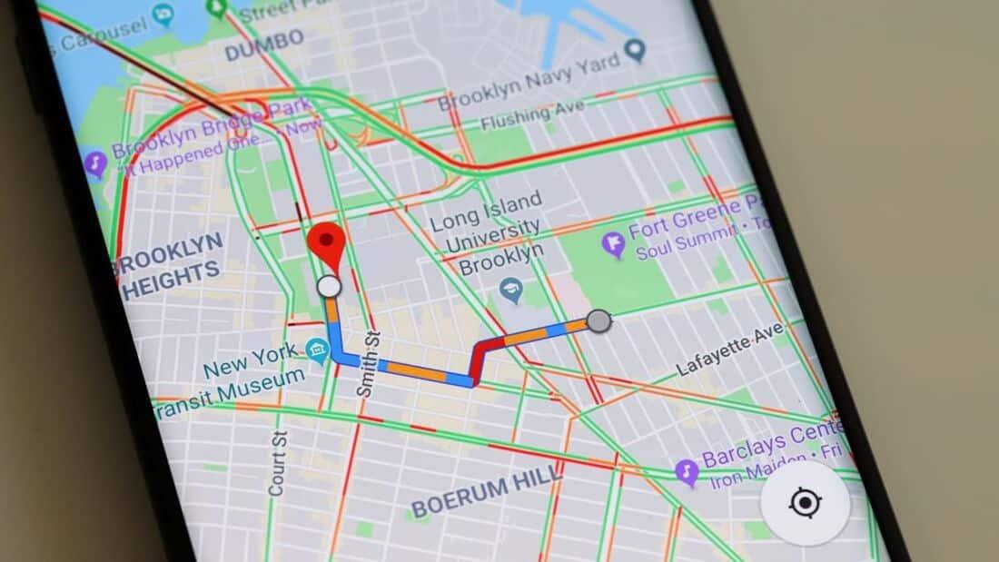 Навигация с Google Maps