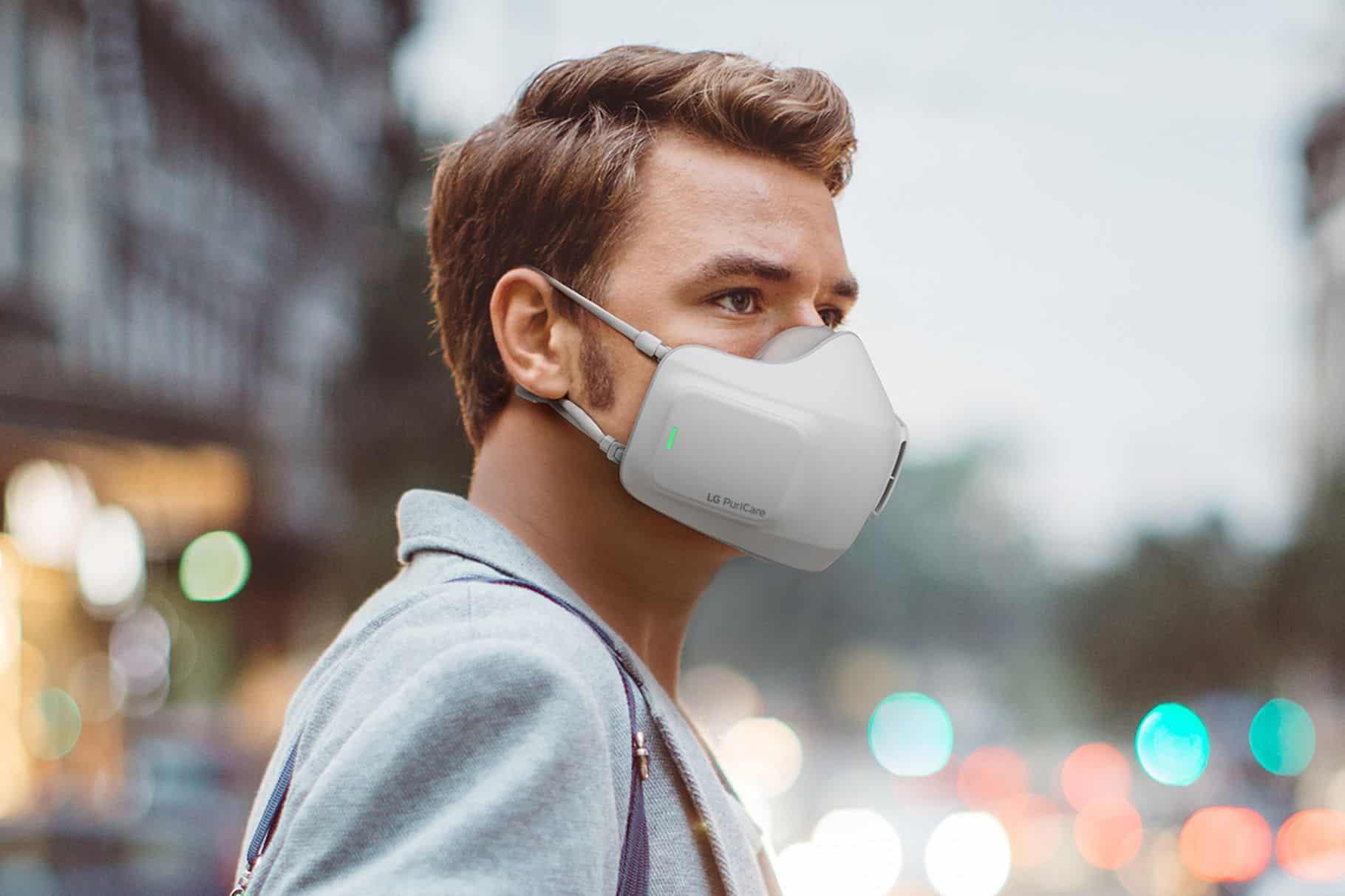 PuriCare Wearable Air Purifier – маските за пречистване на въздух от LG