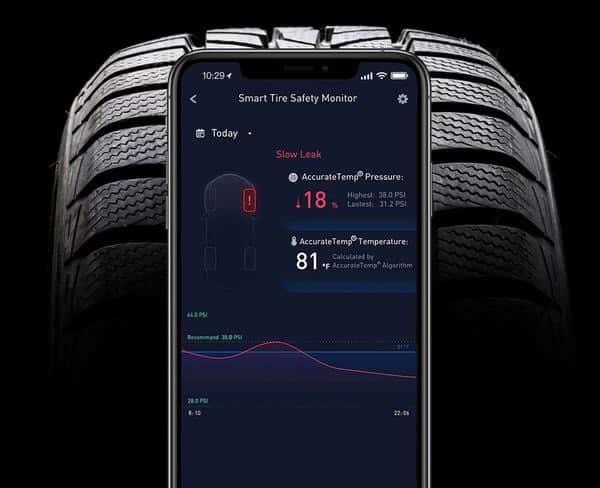 ZUS® Smart Tire Safety Monitor - тапите на гумите