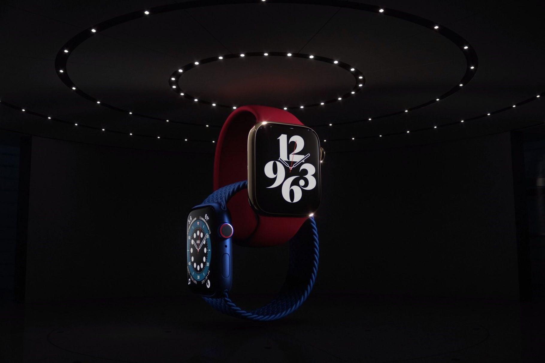 Apple обяви Apple Watch Series 6 с възможност за измерване на нивата на кислород в кръвта
