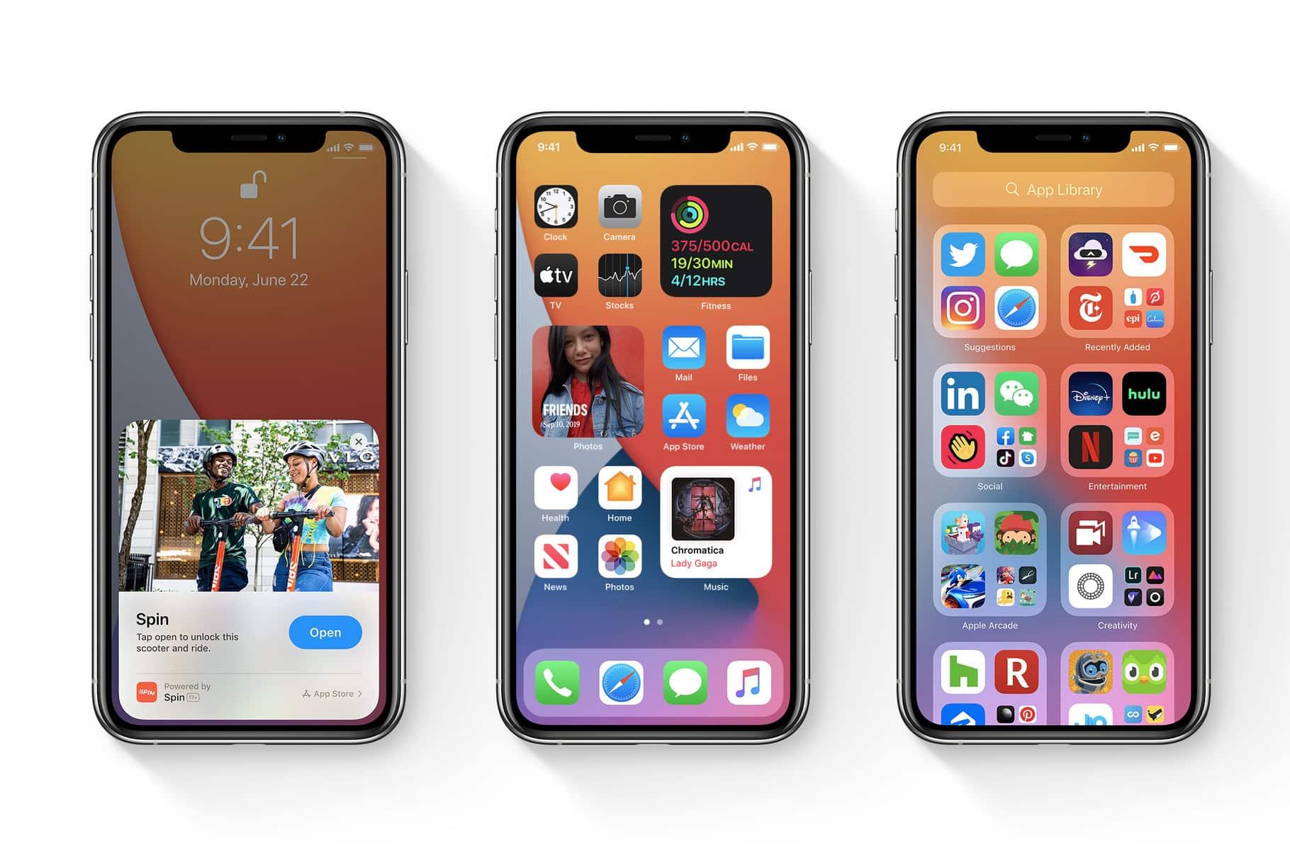 Apple ще пусне iOS 14 и iPadOS 14 днес