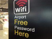 WiFi паролите на летищата