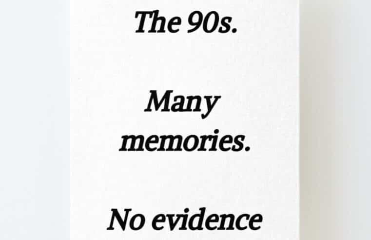Спомени от 90-те