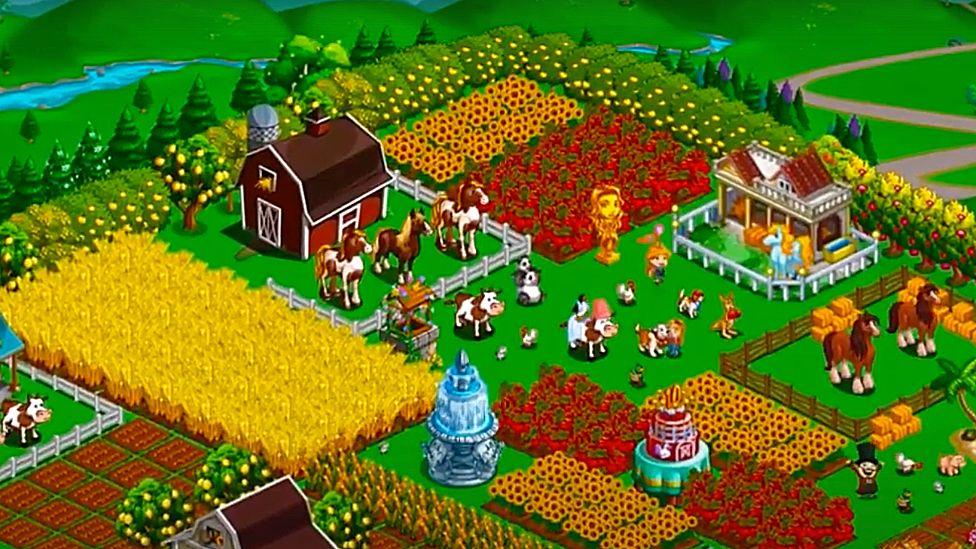 Farmville използват Flash